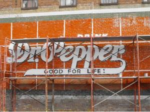 DP Mural Restoration 2011 Before